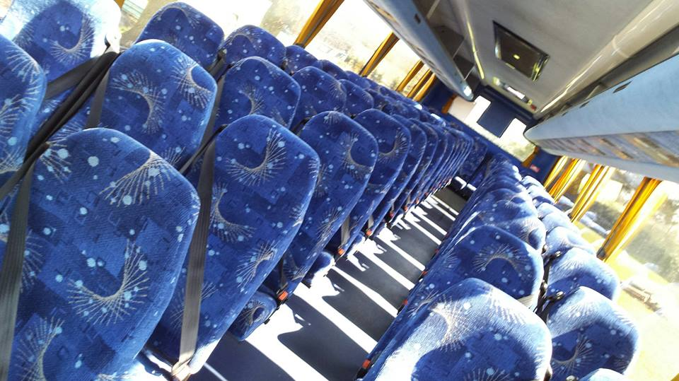 Modern, spacious high-capacity interiors, ideal for larger groups
