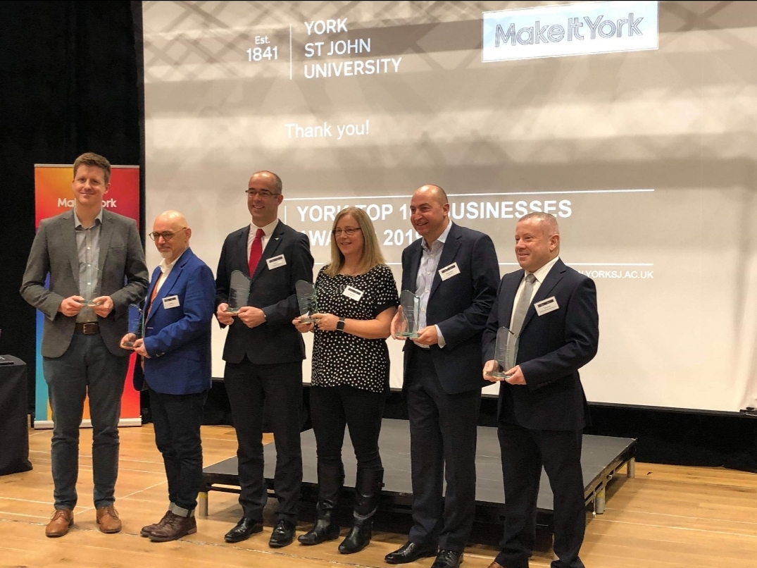 Top York Award for York Pullman.
