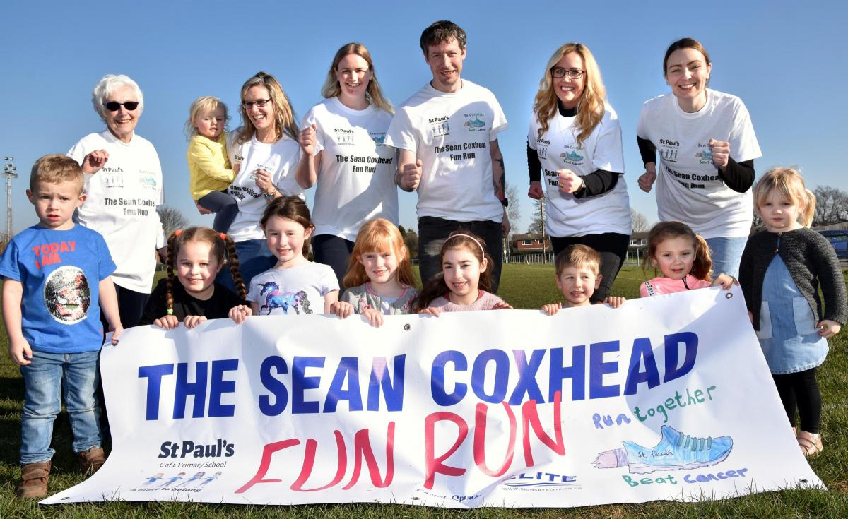 We're proudly supporting the Sean Coxhead Fun Run this March!