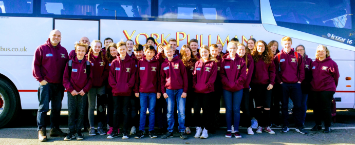 We specialise in school and club trips.